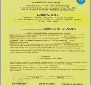 Proiectare, Montaj - S.C. Elinstal S.R.L. - Instalații gaze și centrale termice Calarasi Fetesti Fundulea Oltenita Lehliu