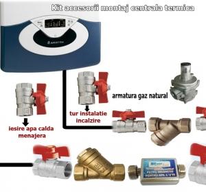 Proiectare, Montaj, Revizii - S.C. Euro Gaz Construct S.R.L. - Instalații gaze și centrale termice Bucuresti Sector 1